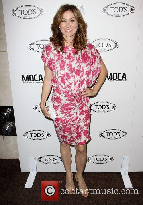 Sasha Alexander Tod's Boutique grand opening in Beverly...