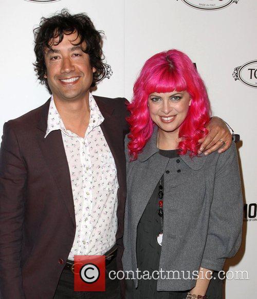 Tarina Tarantino and Alfonso Campos Tod's Boutique grand...