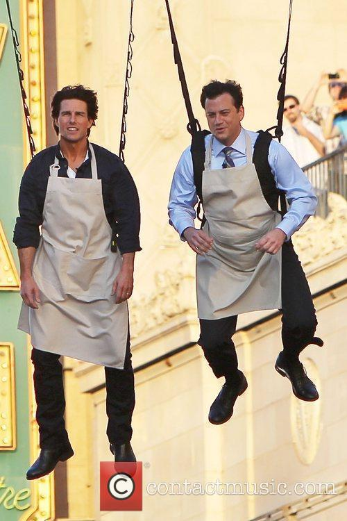 Tom Cruise and Jimmy Kimmel 10