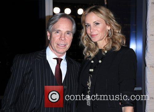 Tommy Hilfiger and wife Dee Ocleppo attend the...