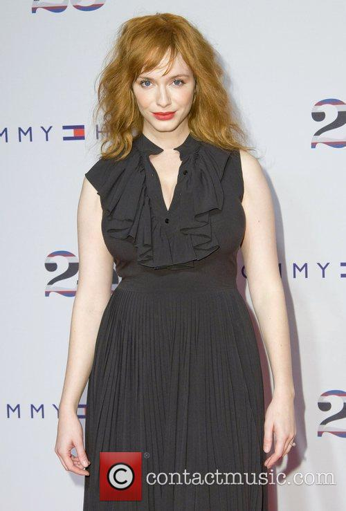 Christina Hendricks, Celebration and Tommy Hilfiger 3