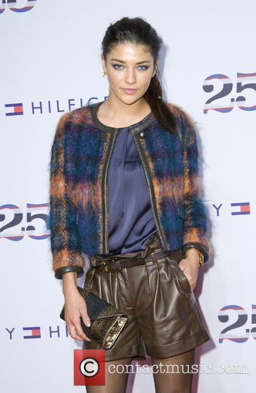 Jessica Szohr, Celebration and Tommy Hilfiger 3