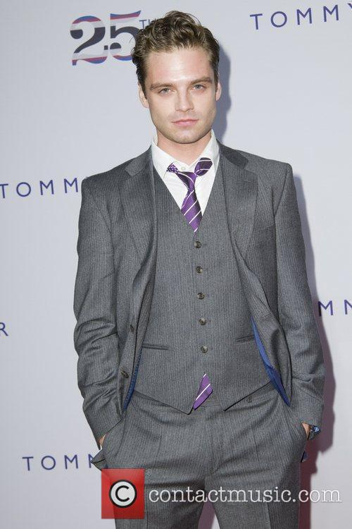 Sebastian Stan, Celebration and Tommy Hilfiger 1