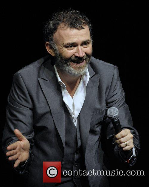 Tommy Tiernan  performing on the opening night...