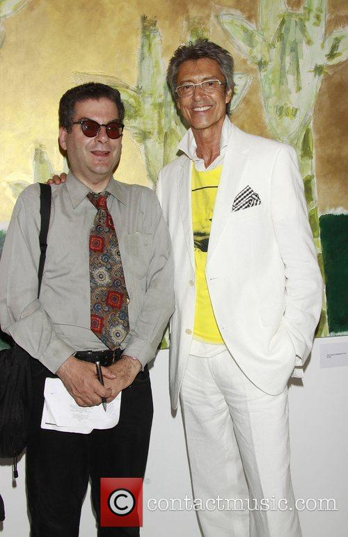 Michael Musto and Tommy Tune Opening Show of...
