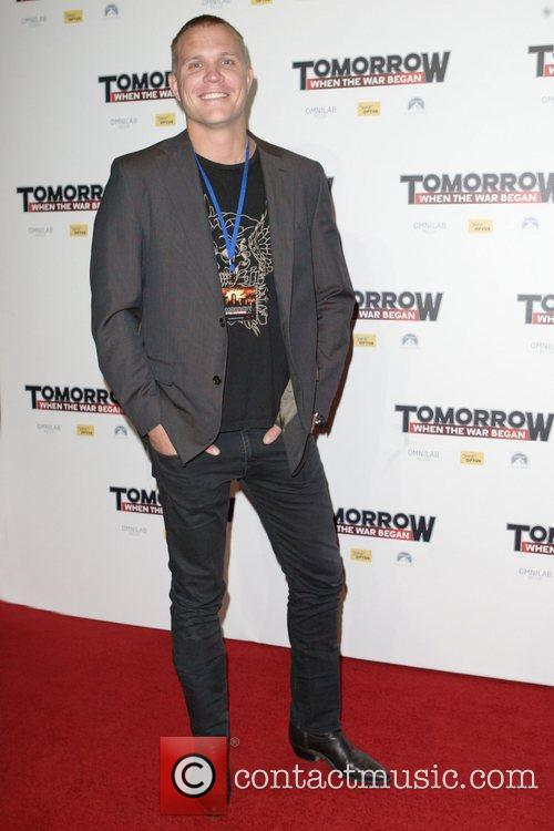 Conrad Coleby The premiere of 'Tomorrow When The...