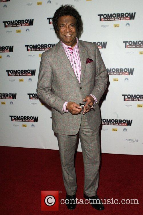 Kamahl The premiere of 'Tomorrow When The War...