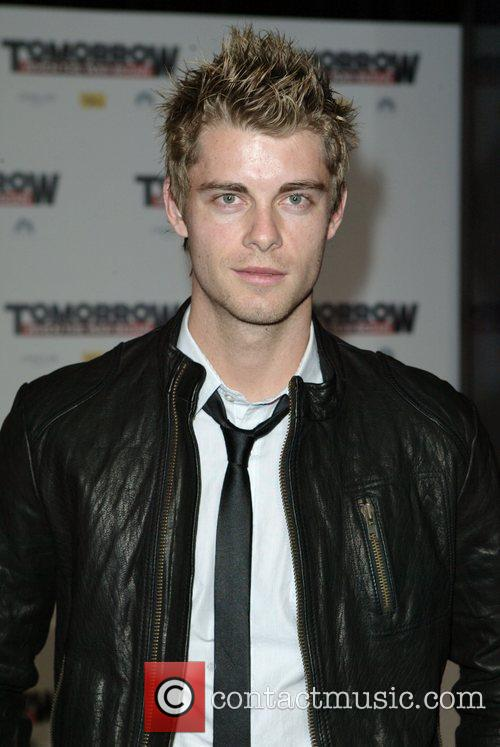Luke Mitchell The premiere of 'Tomorrow When The...