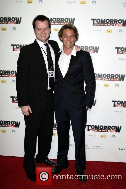 Mitch Lewis and Lincoln Lewis The premiere of...