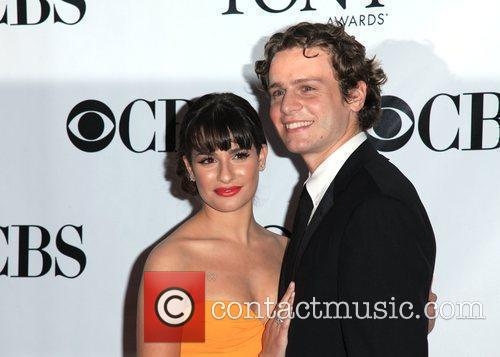 Lea Michele and Jonathan Groff 6
