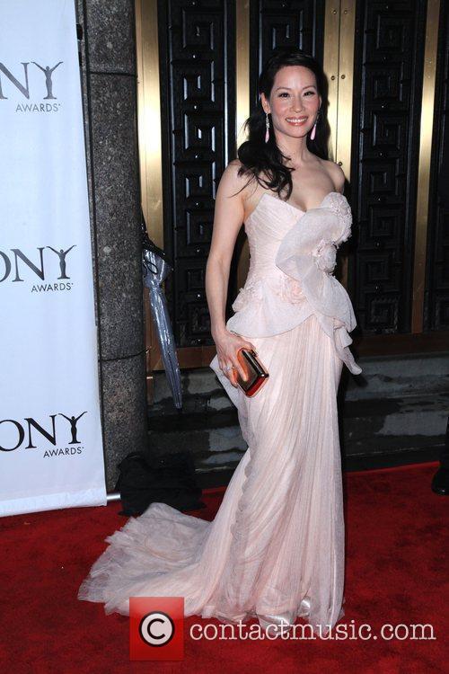 Lucy Liu  The 64th Tony Awards held...