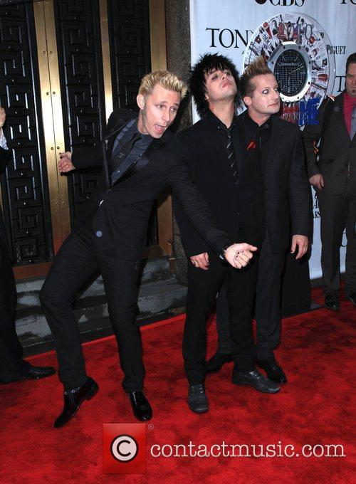 Mike Dirnt, Billie Joe Armstrong and Green Day 2