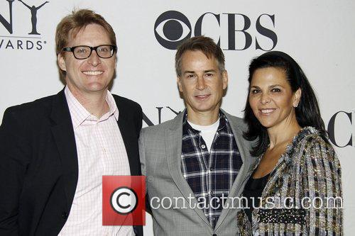 Geoffrey Nauffts and guests 2010 Tony Awards Meet...