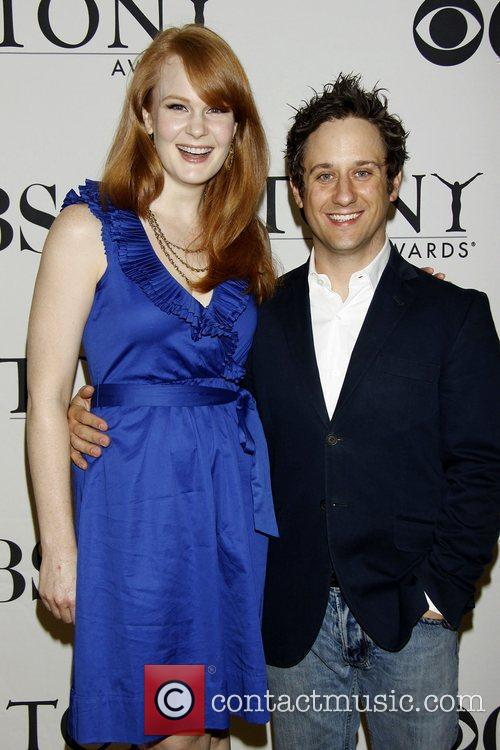 Kate Baldwin and Christopher Fitzgerald 2010 Tony Awards...
