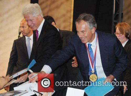 Bill Clinton and Tony Blair 1