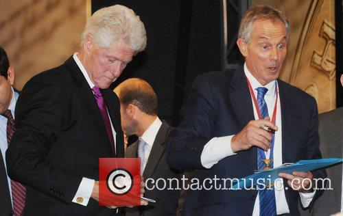 Bill Clinton and Tony Blair 8