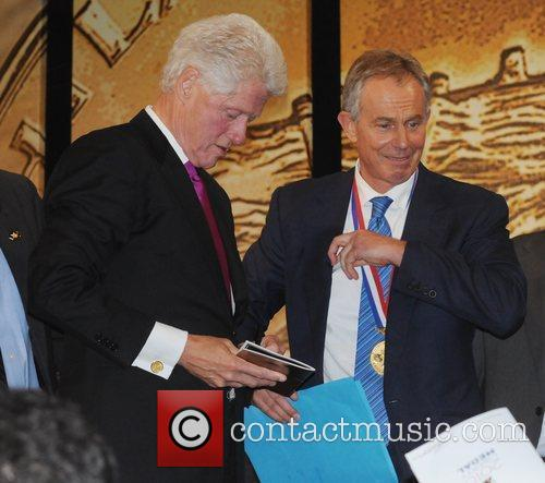 Bill Clinton and Tony Blair 6