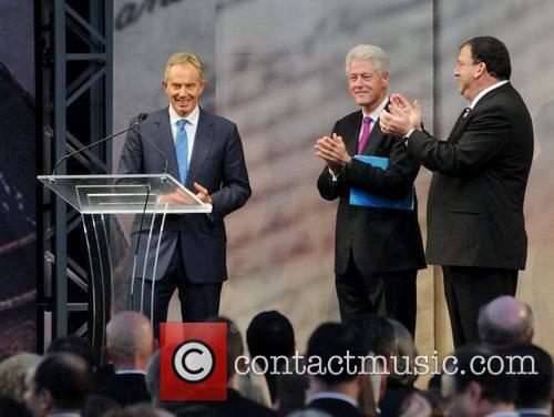 Tony Blair and Bill Clinton 3