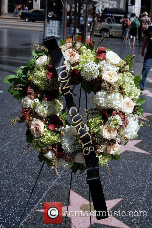 Tony Curtis, Walk Of Fame