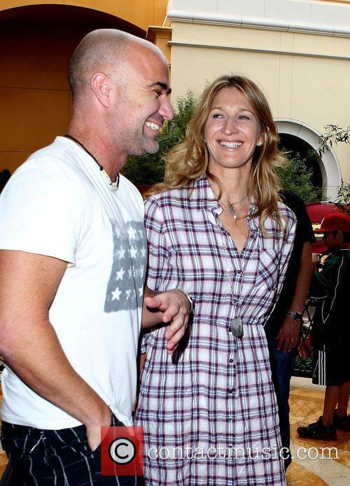 Andre Agassi and Steffi Graf Tony Hawk: Shred...