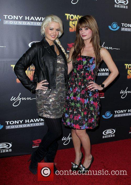 Holly Madison and Laura Croft  Tony Hawk:...