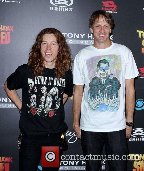 Shaun White and Tony Hawk  Tony Hawk:...