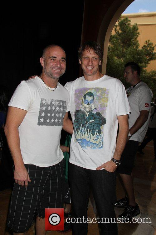 Andre Agassi, Tony Hawk Tony Hawk: Shred presents...