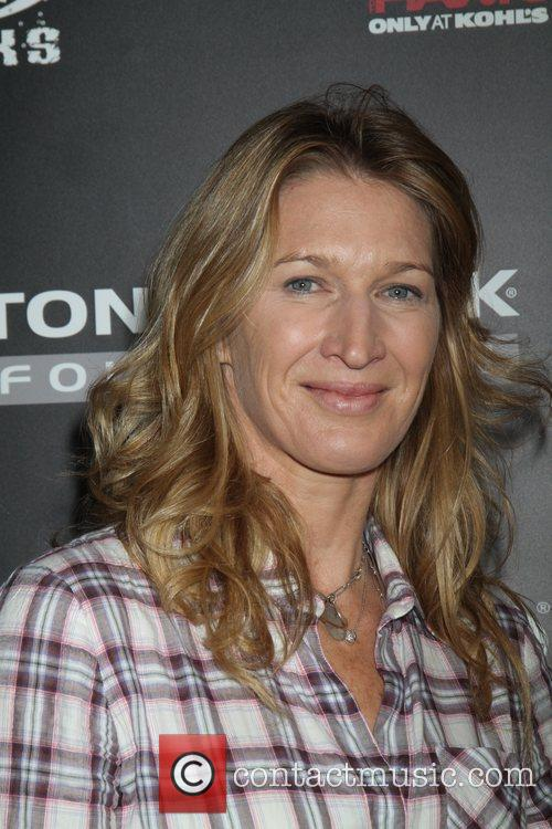 steffi graf photos. Steffi Graf and Las Vegas,