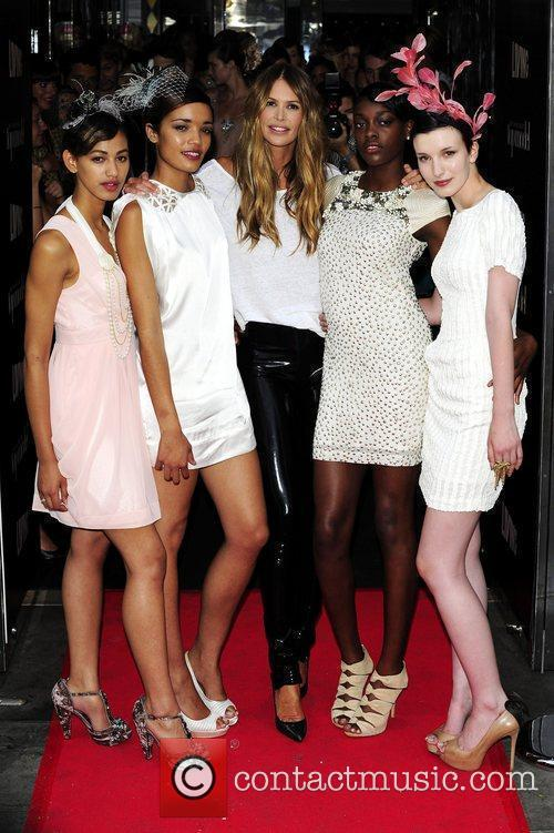 Elle Macpherson and Models 9