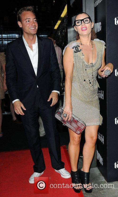 Charley Speed and Grace Woodward leaving Circus after...