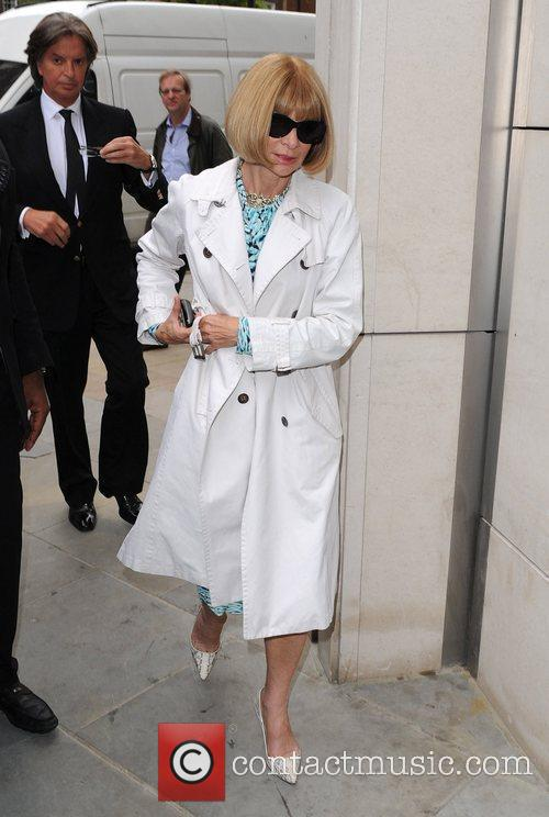 Anna Wintour Topshop opens at Knightsbridge - Arrivals...