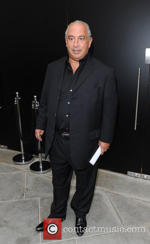 Sir Philip Green Topshop opens at Knightsbridge -...