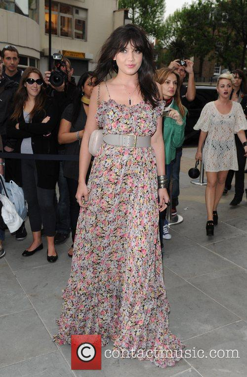 Daisy Lowe Topshop opens at Knightsbridge - arrivals....