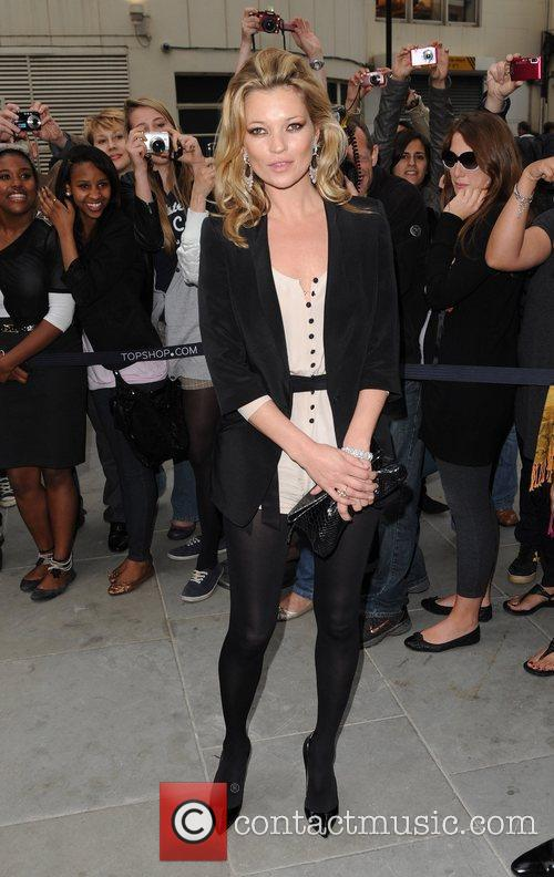 Kate Moss Topshop opens at Knightsbridge - arrivals....