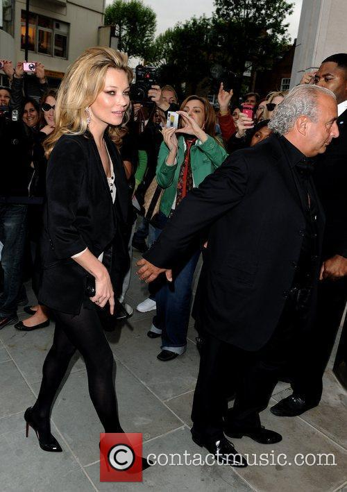 Kate Moss and Sir Philip Green Topshop opens...