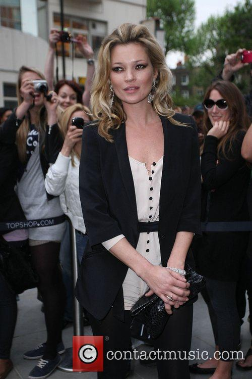 Kate Moss Topshop opens in Knightsbridge - arrivals....