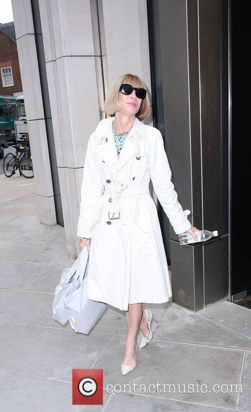 Anna Wintour Topshop opens in Knightsbridge - arrivals....