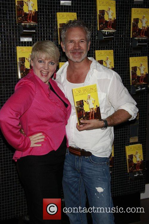 Alison Arngrim and Gerald McCullough Book release party...