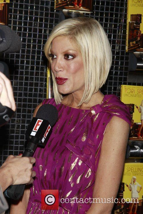 Tori Spelling Book release party for 'Uncharted TerriTori...