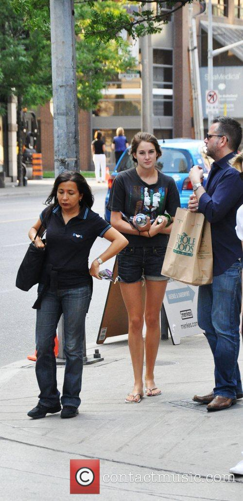 Shailene Woodley in town for the 2010 MuchMusic...