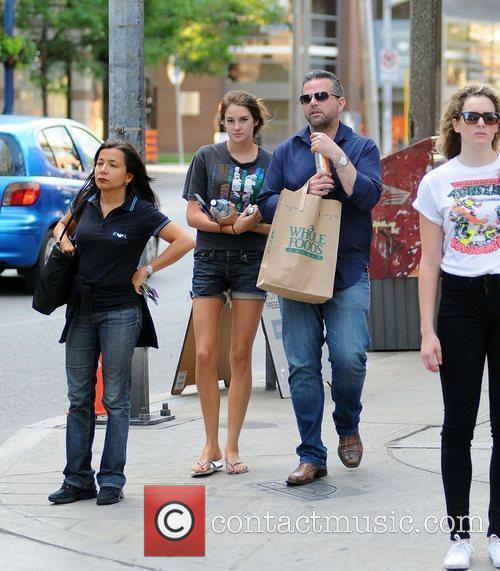 Shailene Woodley out and about in Toronto for...