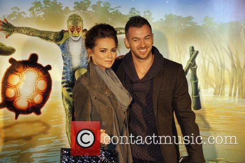 Kara Tointon, Albert Hall and Artem Chigvintsev 5