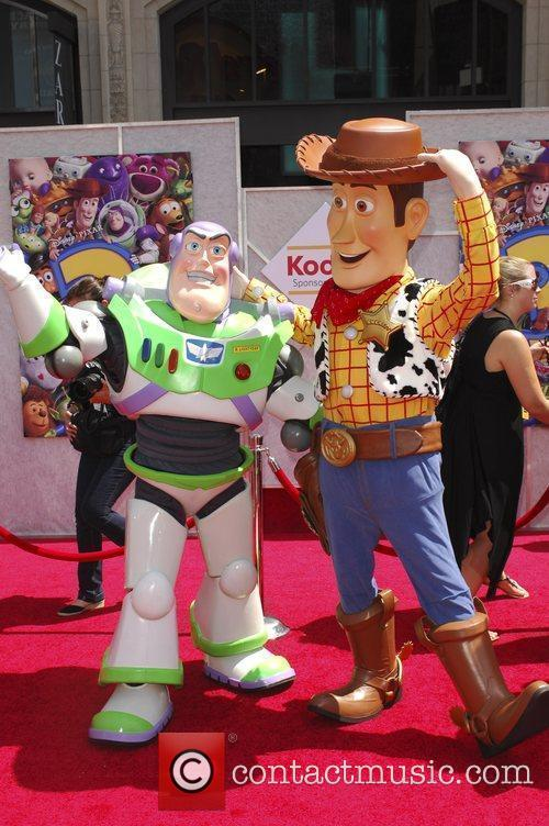 Buzz Lightyear and Walt Disney 1