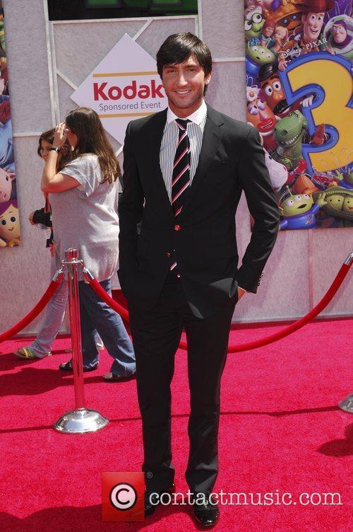 Evan Lysacek and Walt Disney 1