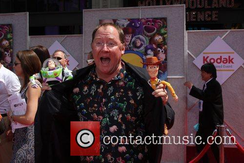 John Lasseter and Walt Disney 1