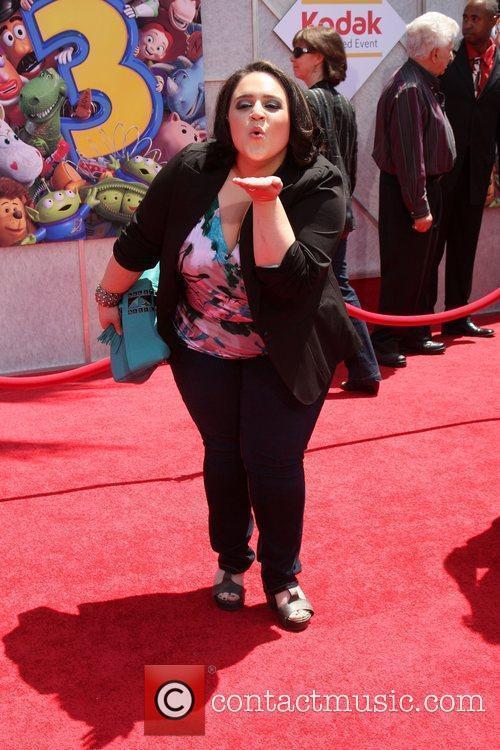 Nikki Blonsky and Walt Disney 1