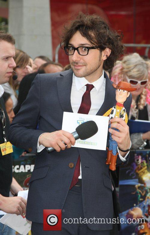 Alex Zane UK premiere of 'Toy Story 3'...