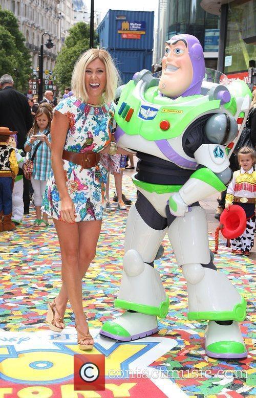 Jenny Frost UK premiere of 'Toy Story 3'...