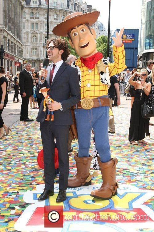UK premiere of 'Toy Story 3' held at...