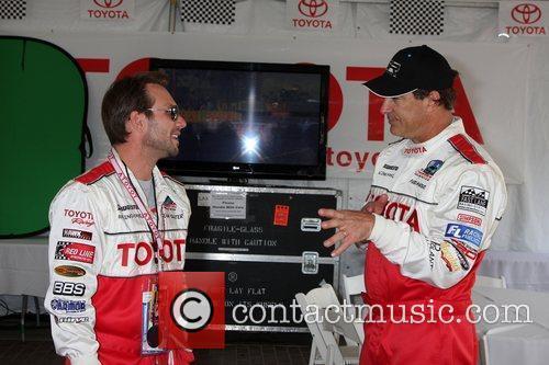 Christian Slater & Patrick Warburton The Toyota Pro/Celebrity...
